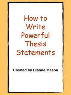 How to write a good master thesis - NTNU
